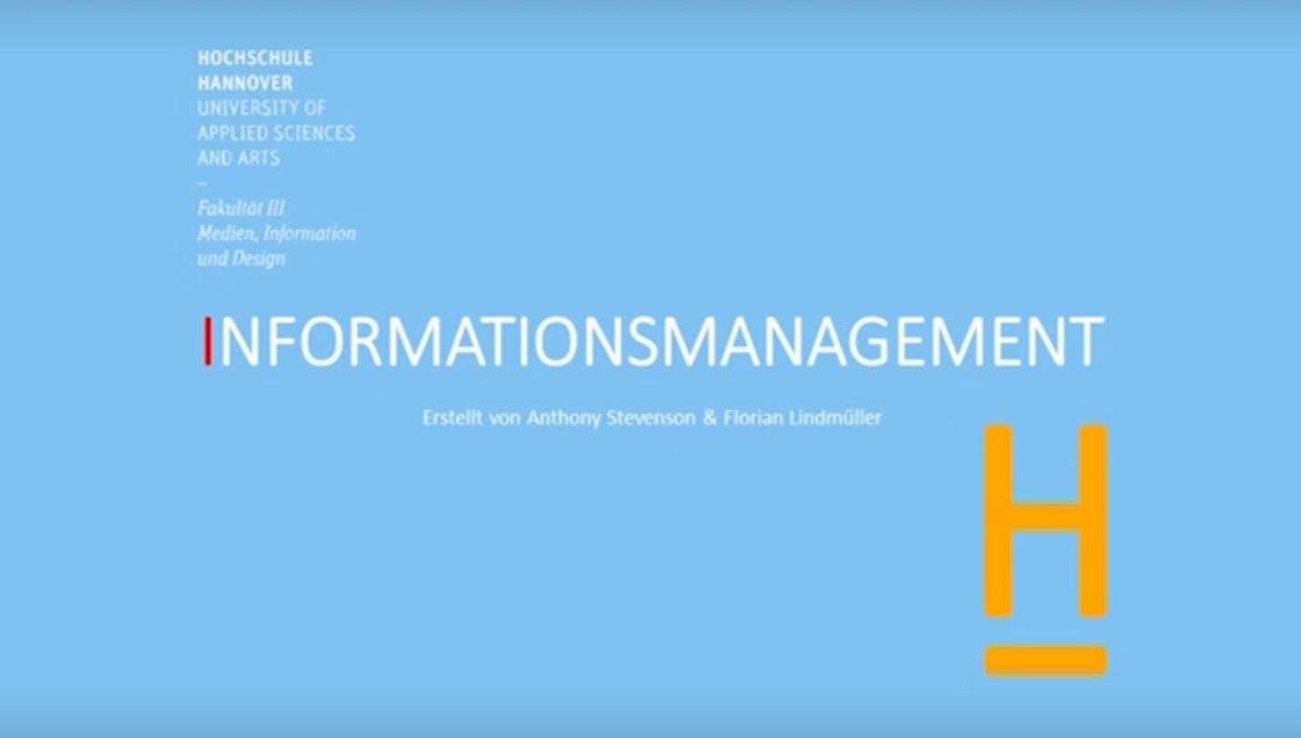 Einführung Bachelor Informationsmanagement