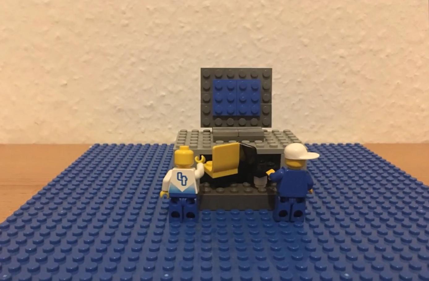 Video rundum IM: Lego Python - WebLab