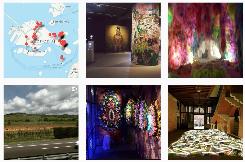 Biennale Map Venice App WebLab