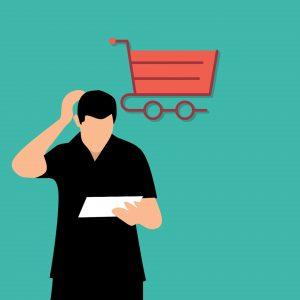 Einkaufswagen Warenkorb Einkaufsliste