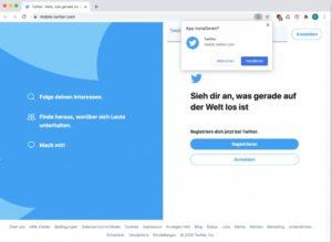 Twitter - Eine erfolgreiche Progressive Web App