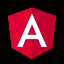 Logo von Angular