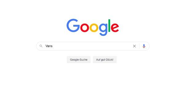 Google-Suche: Vans