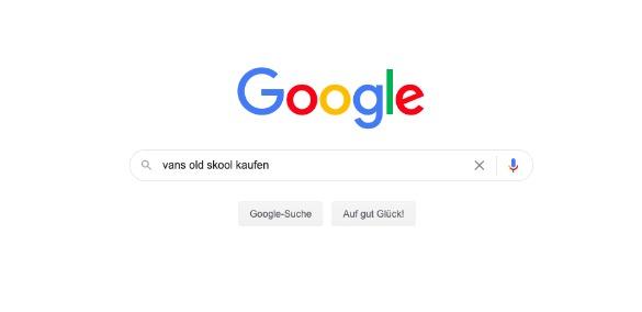 Google-Suche: Vans old skool kaufen