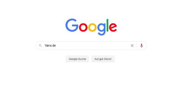 Google-Suche: Vans.de