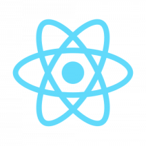 Logo von React