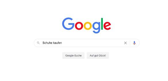 Google-Suche: Schuhe kaufen