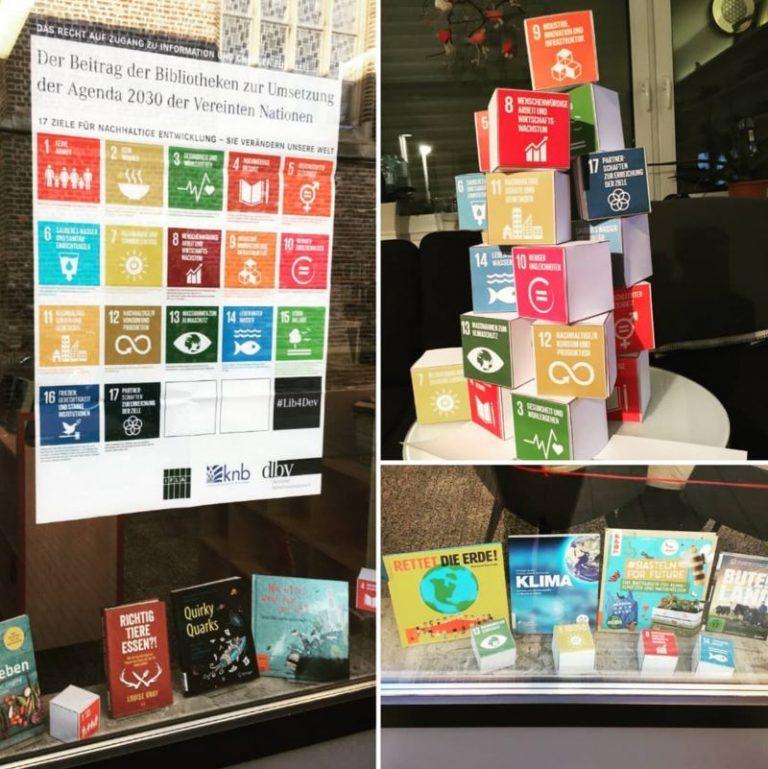 Die Nachhaltigkeitsziele der Agenda 2030 - Beispiel für Nutzung der Biblio2030-Materialien Bücherei Geldern